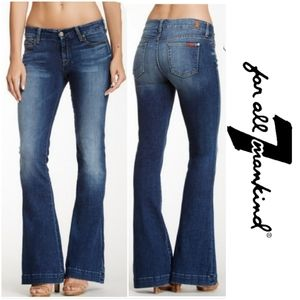 7 For All Mankind Jiselle Flare Jean NEW WITH TAG